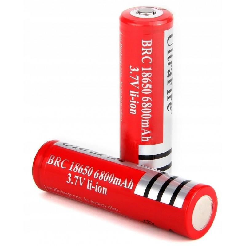 Аккумулятор 18650 UltraFire 3.7В 6800мА/ч / Купить в магазине Arduino Pro