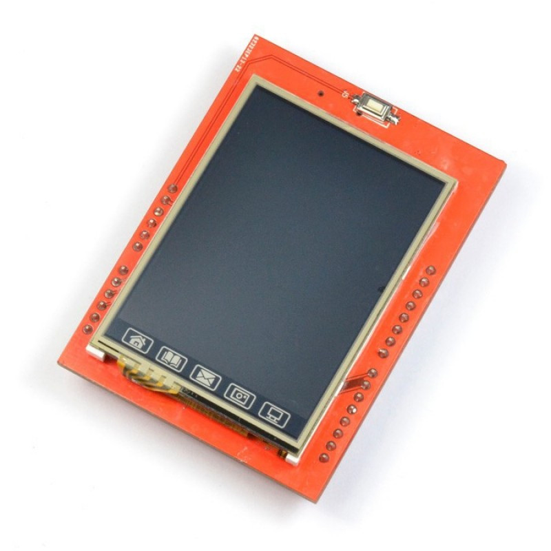 2.4 TFT touch LCD shield / Купить в магазине Arduino Pro