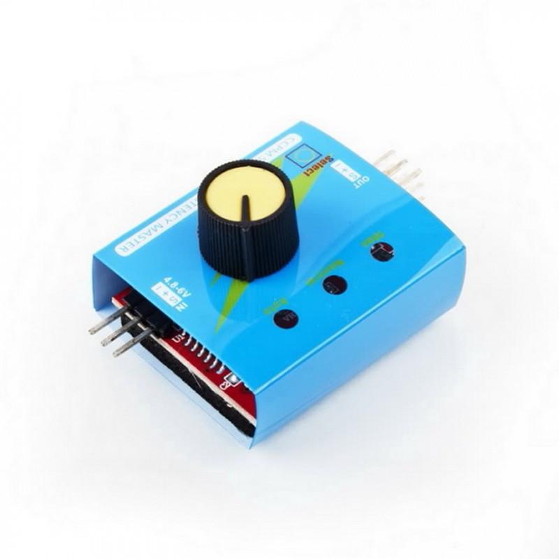 Тестер сервоприводов 3CH ECS / Купить в магазине Arduino Pro