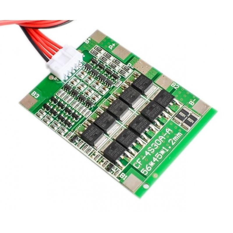 Модуль заряда аккумуляторов 4S 30A / Купить в магазине Arduino Pro