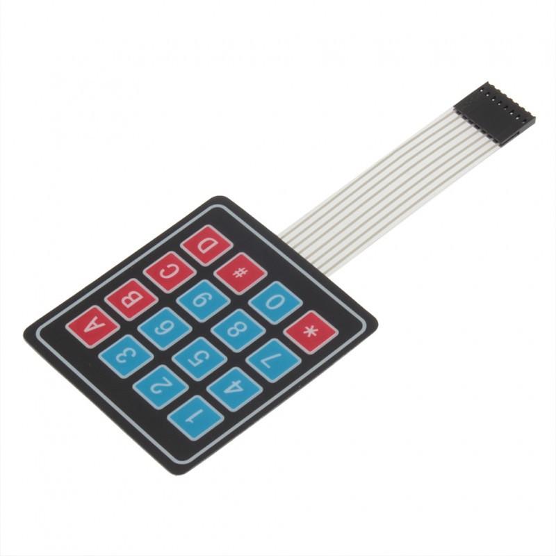 Матричная клавиатура 4х4 / Купить в магазине Arduino Pro