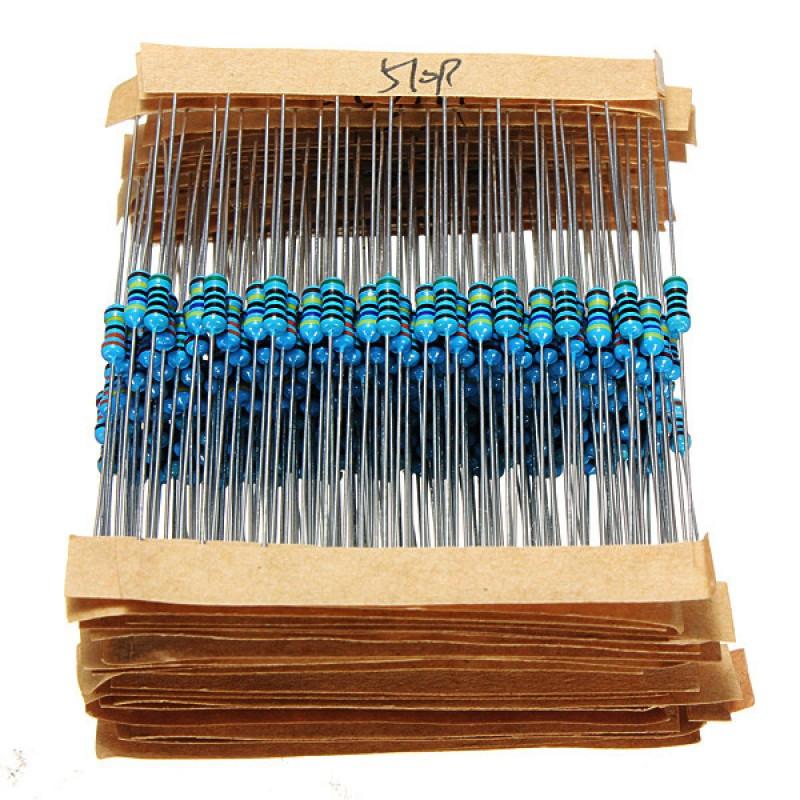 Набор резисторов 820 штук / Купить в магазине Arduino Pro