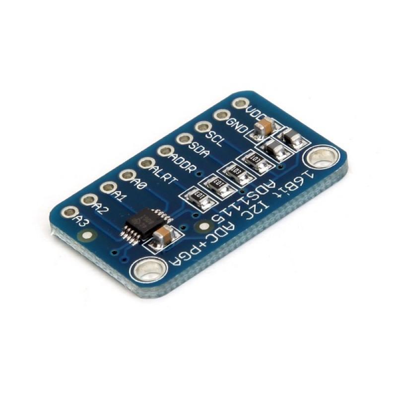 Купить модуль АЦП 16 бит (I2C) ADS1115