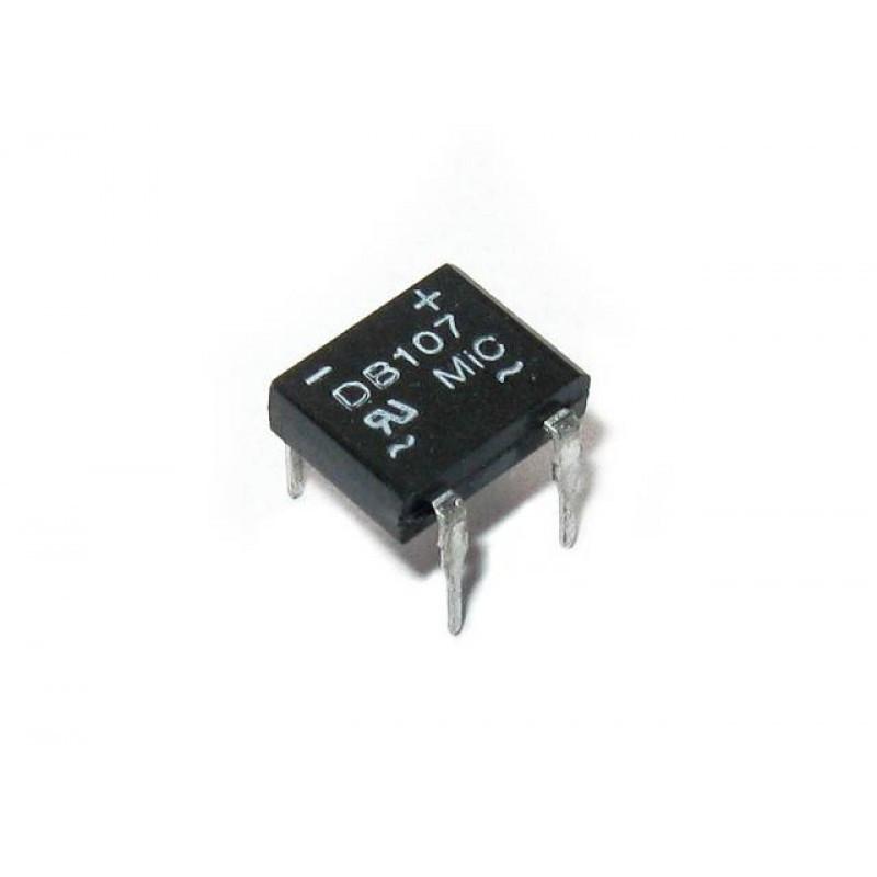 Диодный мост DB107 (1A 1000В) / Купить в магазине Arduino Pro
