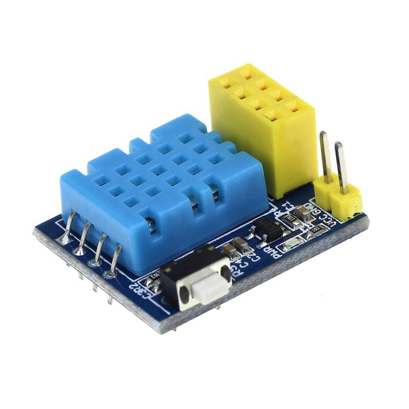 Модуль расширения для ESP-01 с датчиком температуры и влажности DHT11 / Купить в магазине Arduino Pro