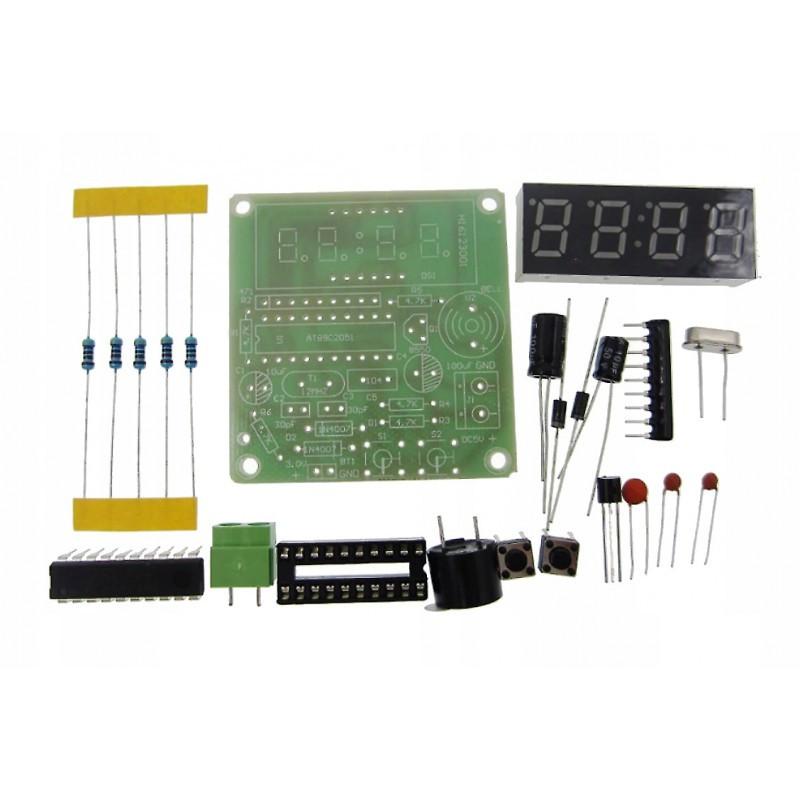 """DIY набор """"Электронные часы - будильник"""" / Купить в магазине Arduino Pro"""