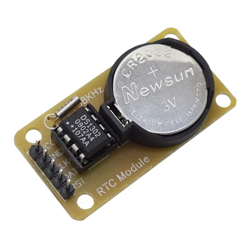 Модуль часов реального времени DS1302 / Купить в магазине Arduino Pro