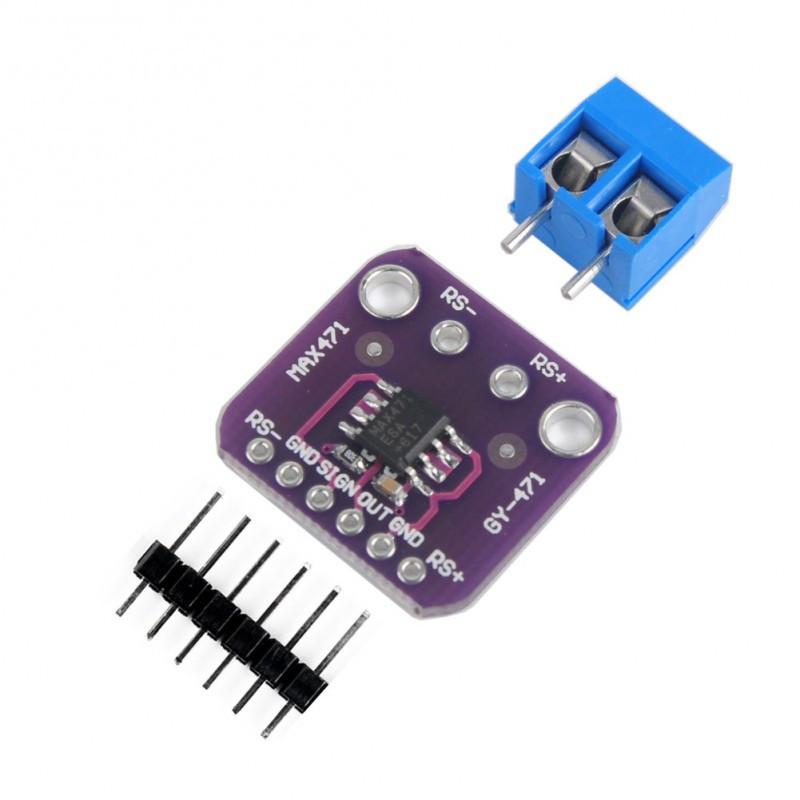 Датчик тока и напряжения GY-471 (MAX471) / Купить в магазине Arduino Pro