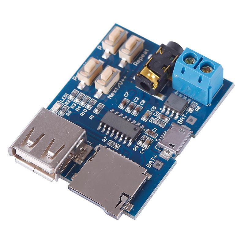 Аудио модуль (MP3-плеер) GPD2856C / Купить в магазине Arduino Pro