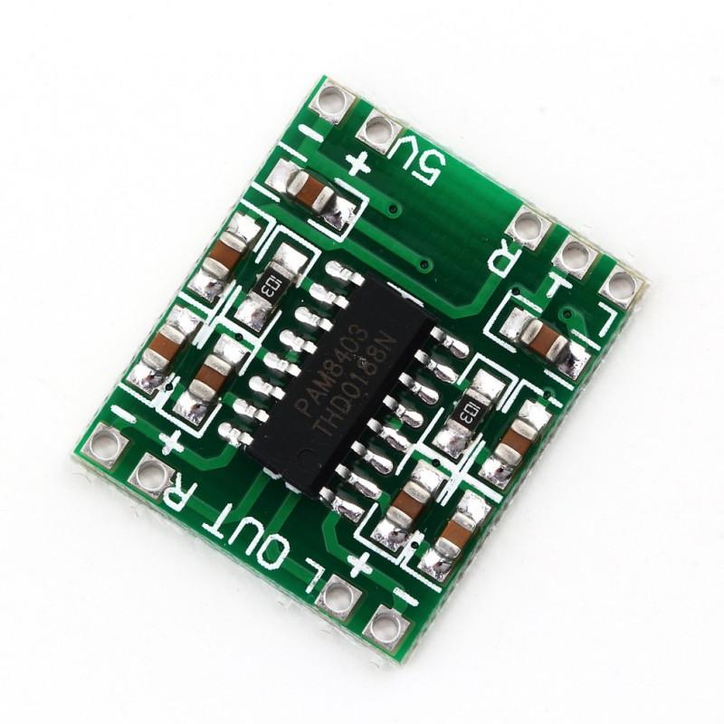 Аудио усилитель PAM8403 / Купить в магазине Arduino Pro