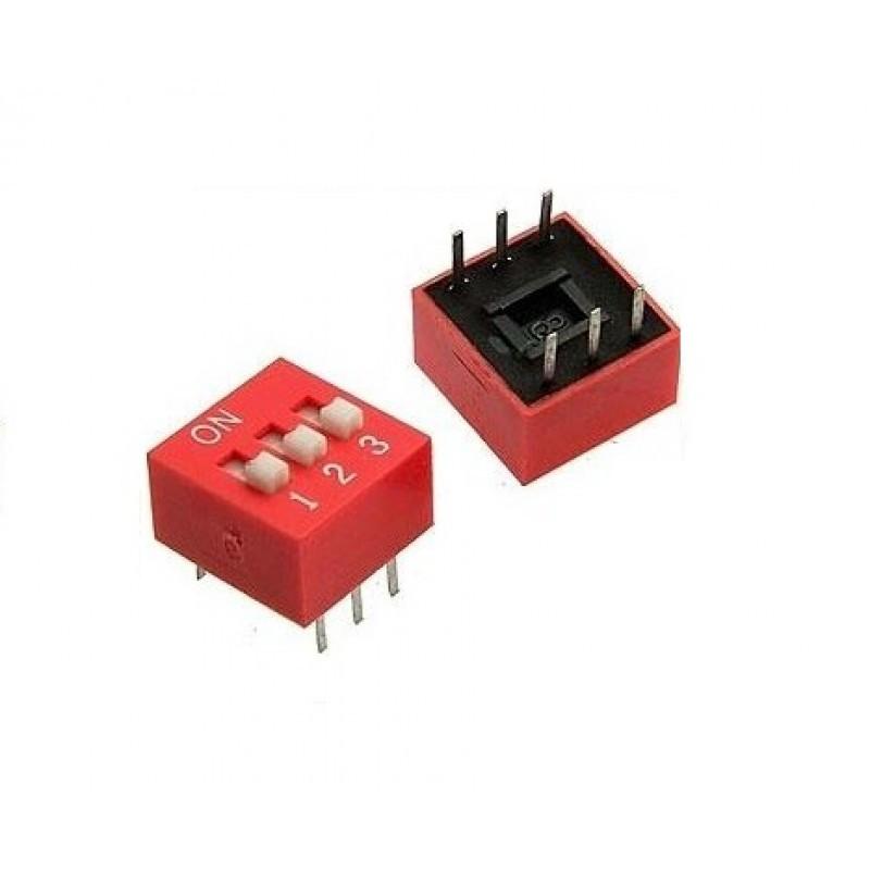 SWD-03 (DS-03) DIP переключатель / Купить в магазине Arduino Pro