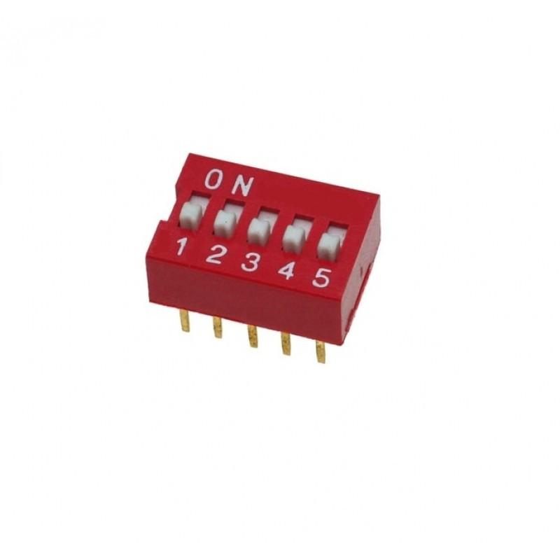 SWD-05 (DS-05) DIP переключатель / Купить в магазине Arduino Pro