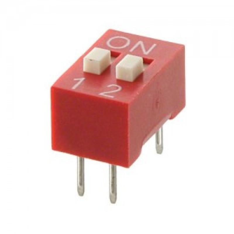 SWD1-2 (DS-02) DIP переключатель / Купить в магазине Arduino Pro