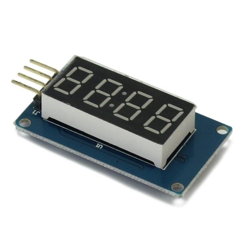 Цифровой дисплей TM1637 / Купить в магазине Arduino Pro