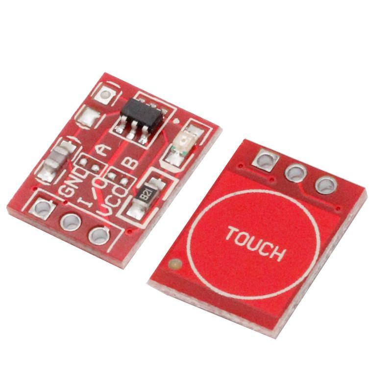 Датчик касания TTP223 / Купить в магазине Arduino Pro