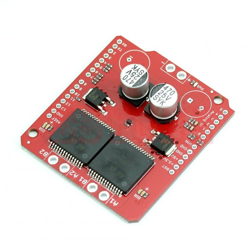 Драйвер двигателей VNH2SP30 2-х канальный  / Купить в магазине Arduino Pro