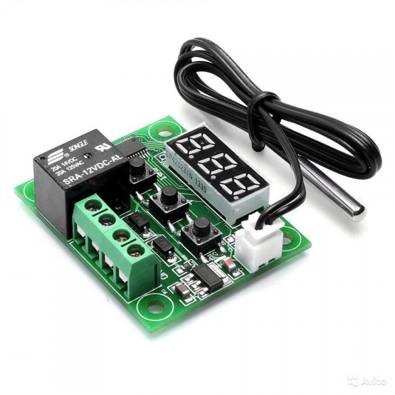 Терморегулятор программируемый W1209 / Купить в магазине Arduino Pro