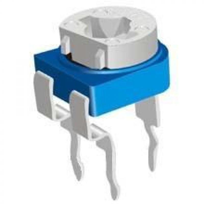 Резистор подстроечный RM065 200кОм / Купить в магазине Arduino Pro