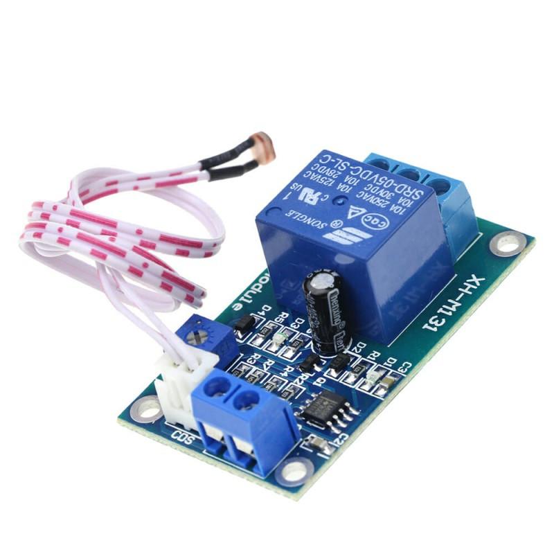 Модуль реле с датчиком света XH-M131 / Купить в магазине Arduino Pro