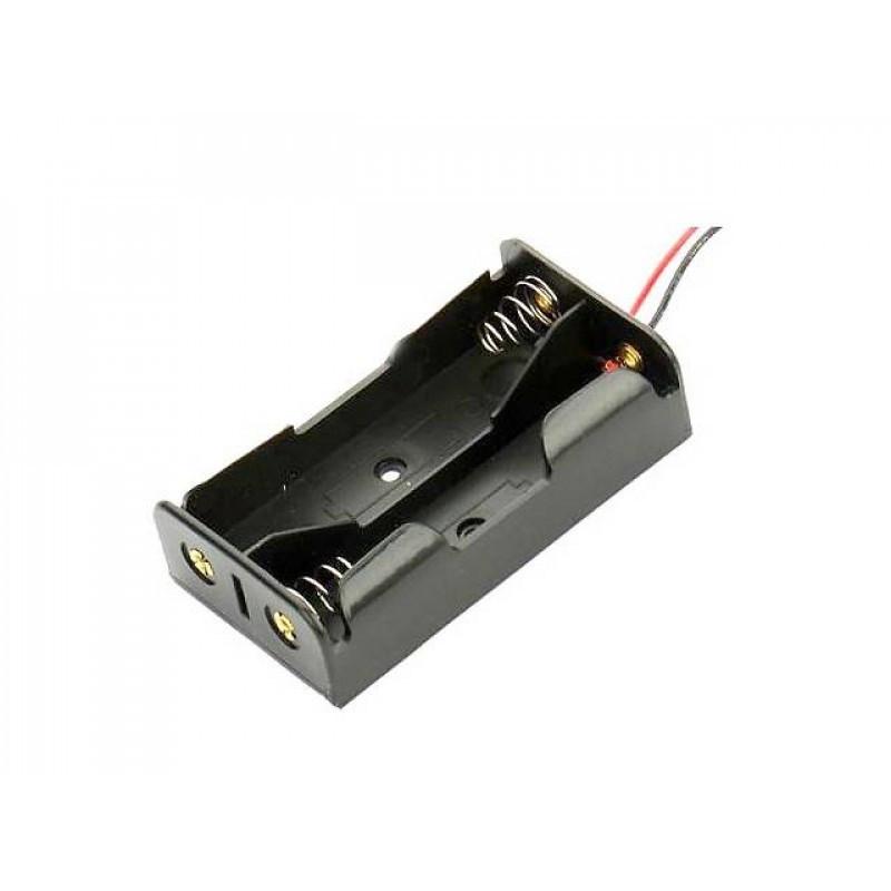 Батарейный отсек 2 х 18650 / Купить в магазине Arduino Pro