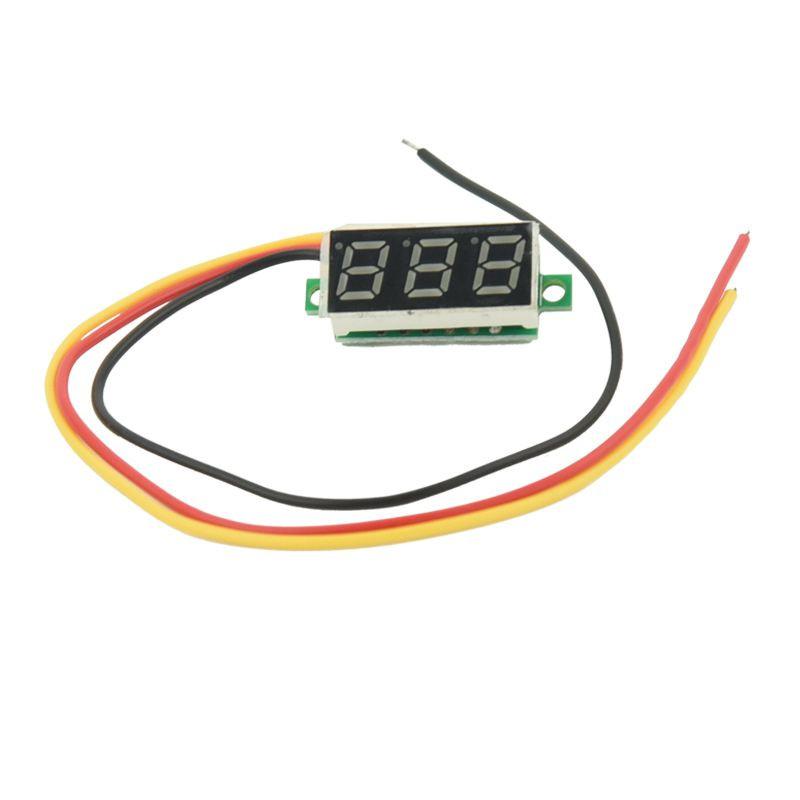 Вольтметр 0В - 100В синий/ Купить в магазине Arduino Pro