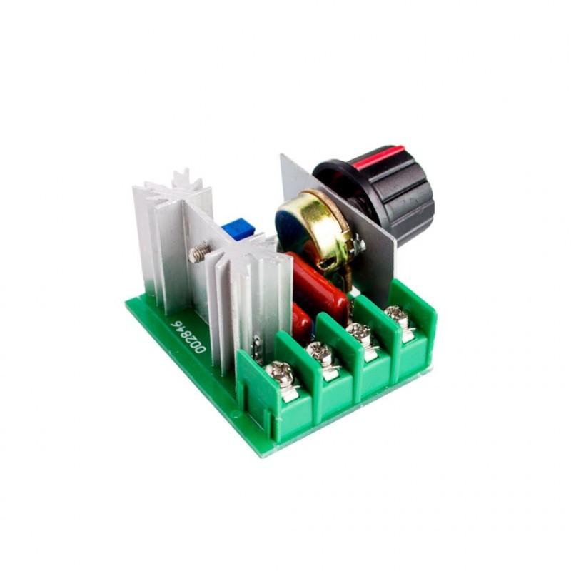 Купить симисторный регулятор мощности 2000Вт 220В