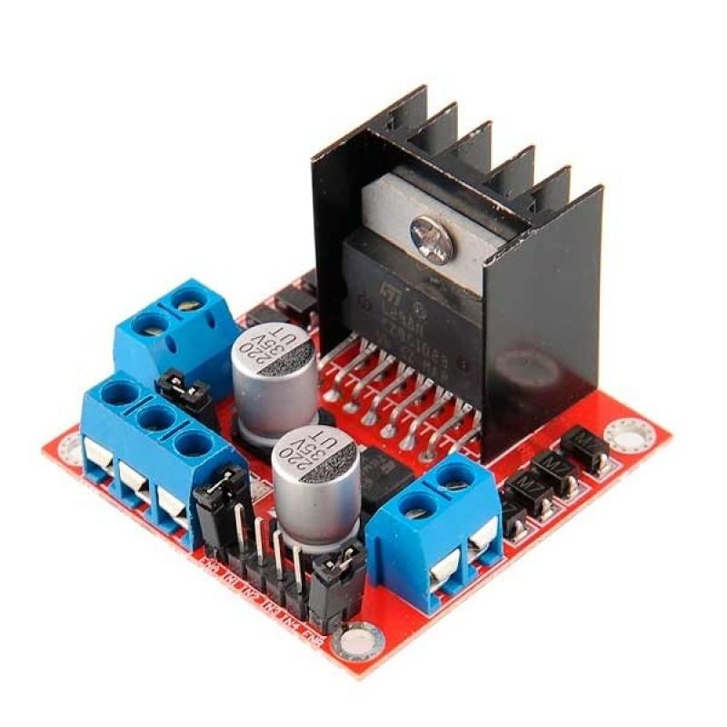 Драйвер моторов на L298N / Купить в магазине Arduino Pro