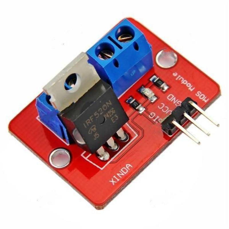 Купить модуль MOSFET транзистора IRF520 (силовой ключ) / магазине Arduino Pro