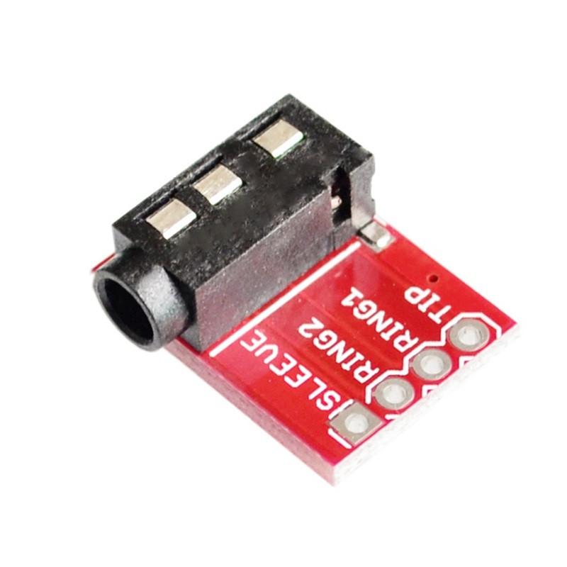 Jack 3.5 гнездо плата-переходник (Breakout) / Купить в магазине Arduino Pro