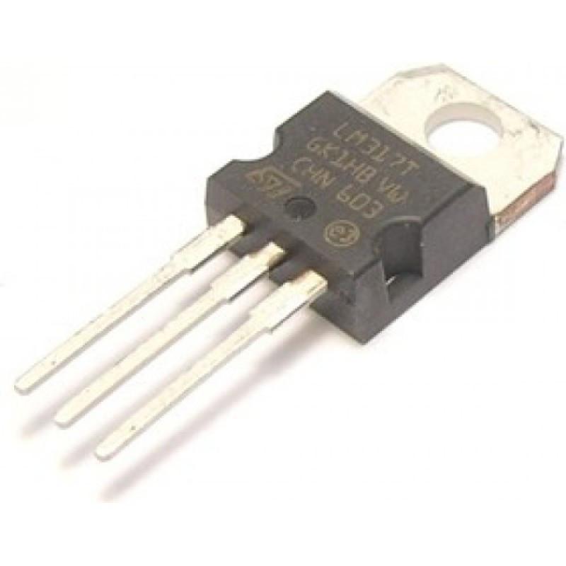 Купить стабилизатор напряжения регулируемый LM317T (1.2-37В