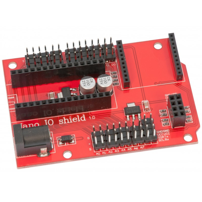 Arduino Nano IO Shield V1.0 / Купить в магазине Arduino Pro