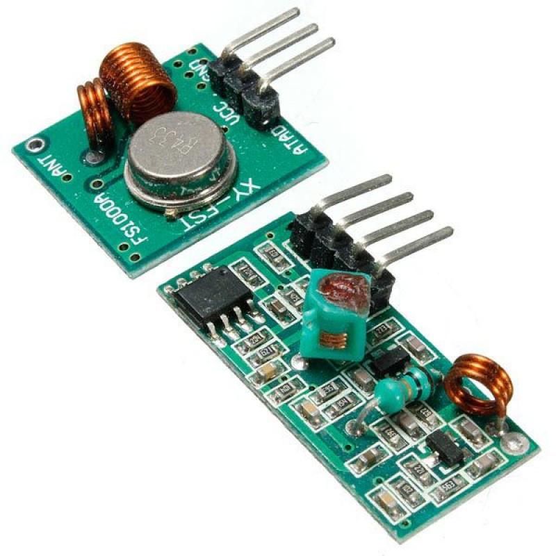 Передатчик + приемник XY-MK-5V 433Mhz / Купить в магазине Arduino Pro