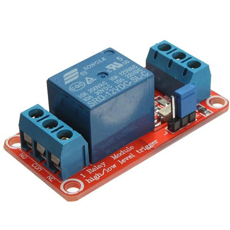 Модуль реле 12В 1-канал электромеханическое с опторазвязкой / Купить в магазине Arduino Pro