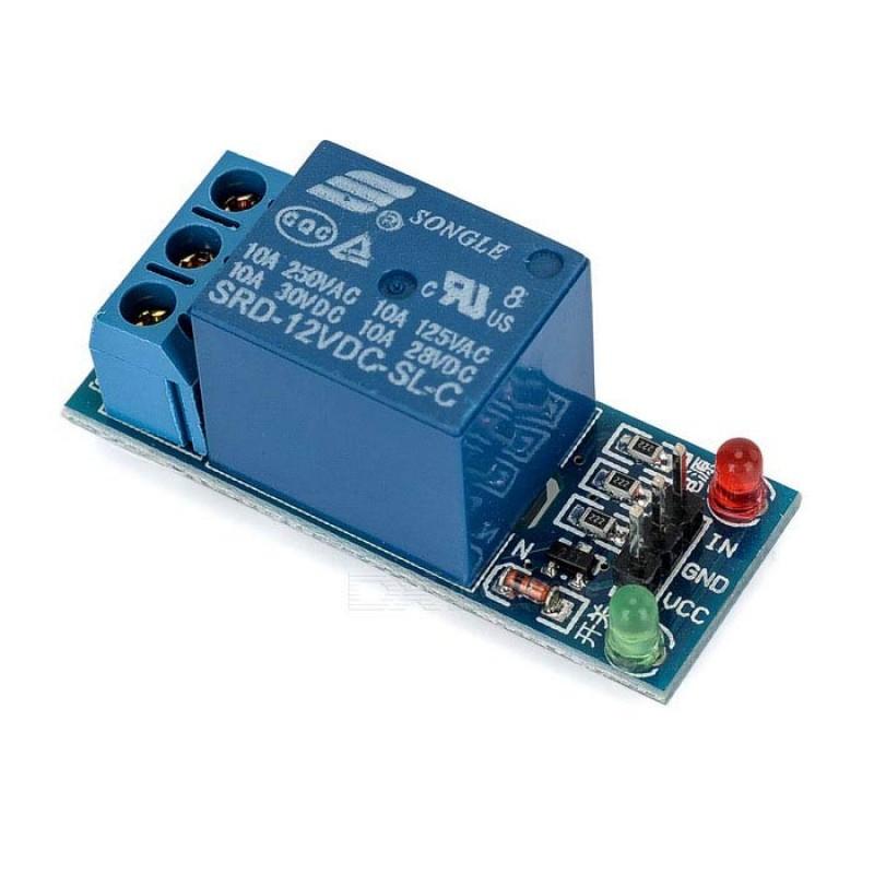Модуль реле 12В 1-канал электромеханическое / Купить в магазине Arduino Pro