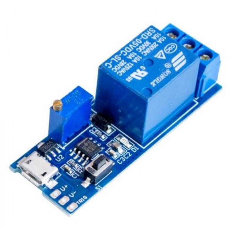 Модуль реле 5В с таймером и USB / Купить в магазине Arduino Pro