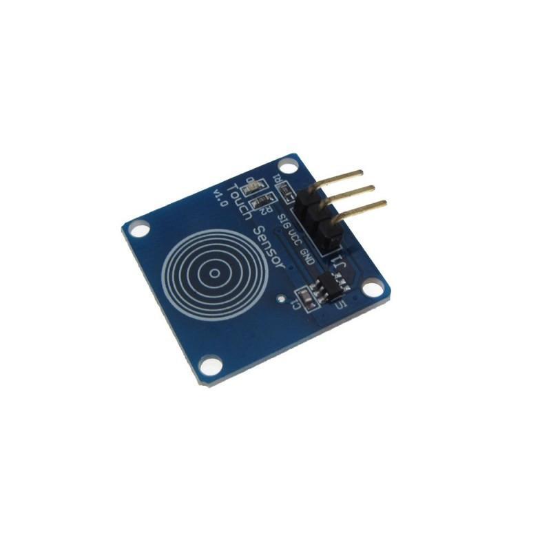 Датчик касания TTP223B / Купить в магазине Arduino Pro