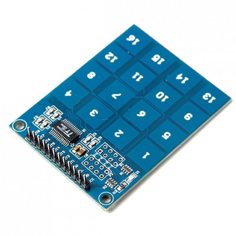 Сенсорная клавиатура TTP229 / Купить в магазине Arduino Pro