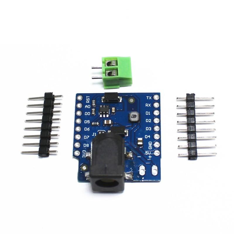 Купить WeMos D1 mini Power Shield