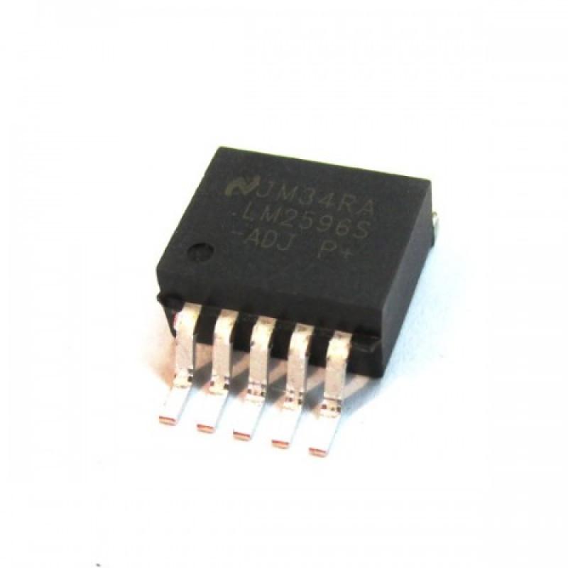 Импульсный преобразователь LM2596S_ADJ